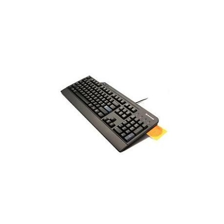 usb business slim wired smartcard ccid keyboard
